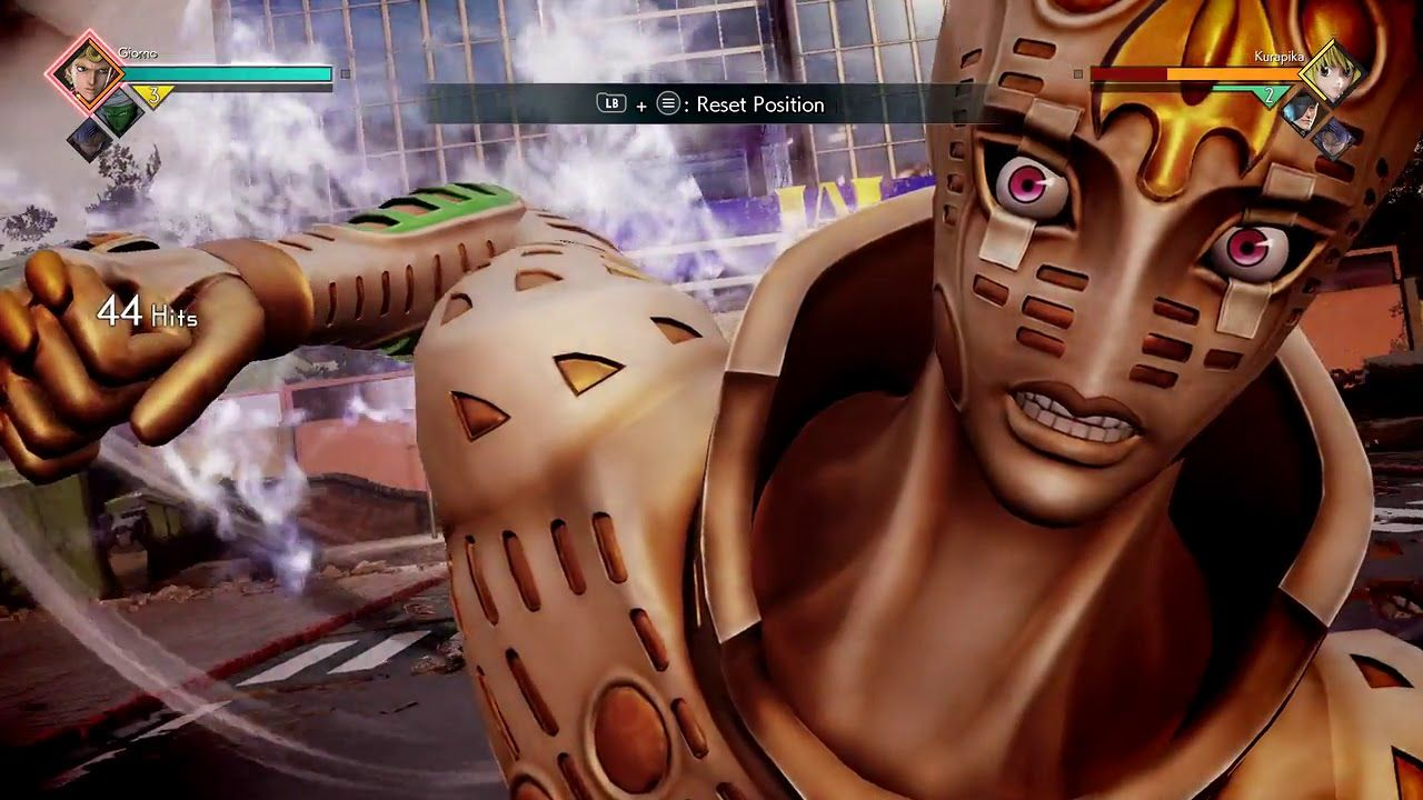 Giorno Giovanna Combo 1 Jump Force Dlc Gameplay Gameplay Combo Gorgeous
