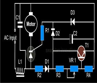 Closed Loop Single Phase Ac Motor Speed Controller With Images