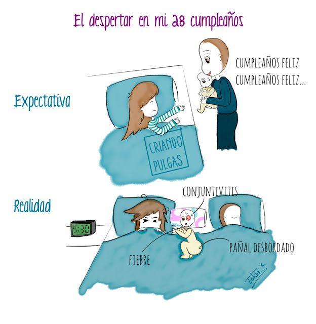 Feliz cumpleaños http://pulguiteando.blogspot.com.es/2016/05/feliz-cumpleanos.html #maternity #maternidad #ilustración #dibujo #draw #childhood #niños #infancia #maternidadilustrada