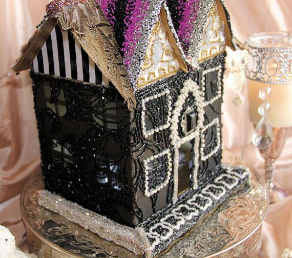 Elegant Halloween House decoration mantle by OrnateSplendor Fall - elegant halloween decorations