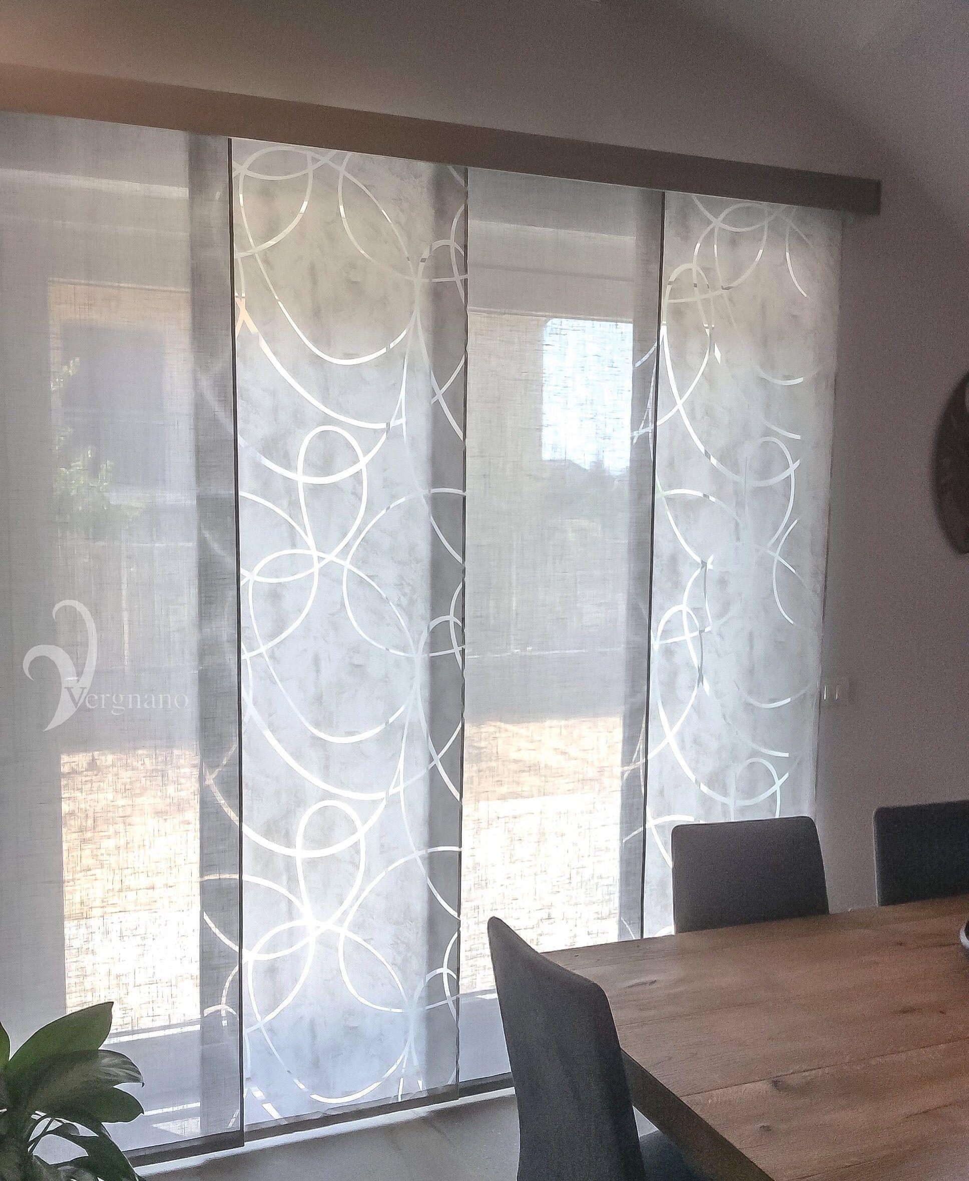 Tende a pannelli moderne confezionate - Vergnano Tendaggi ...
