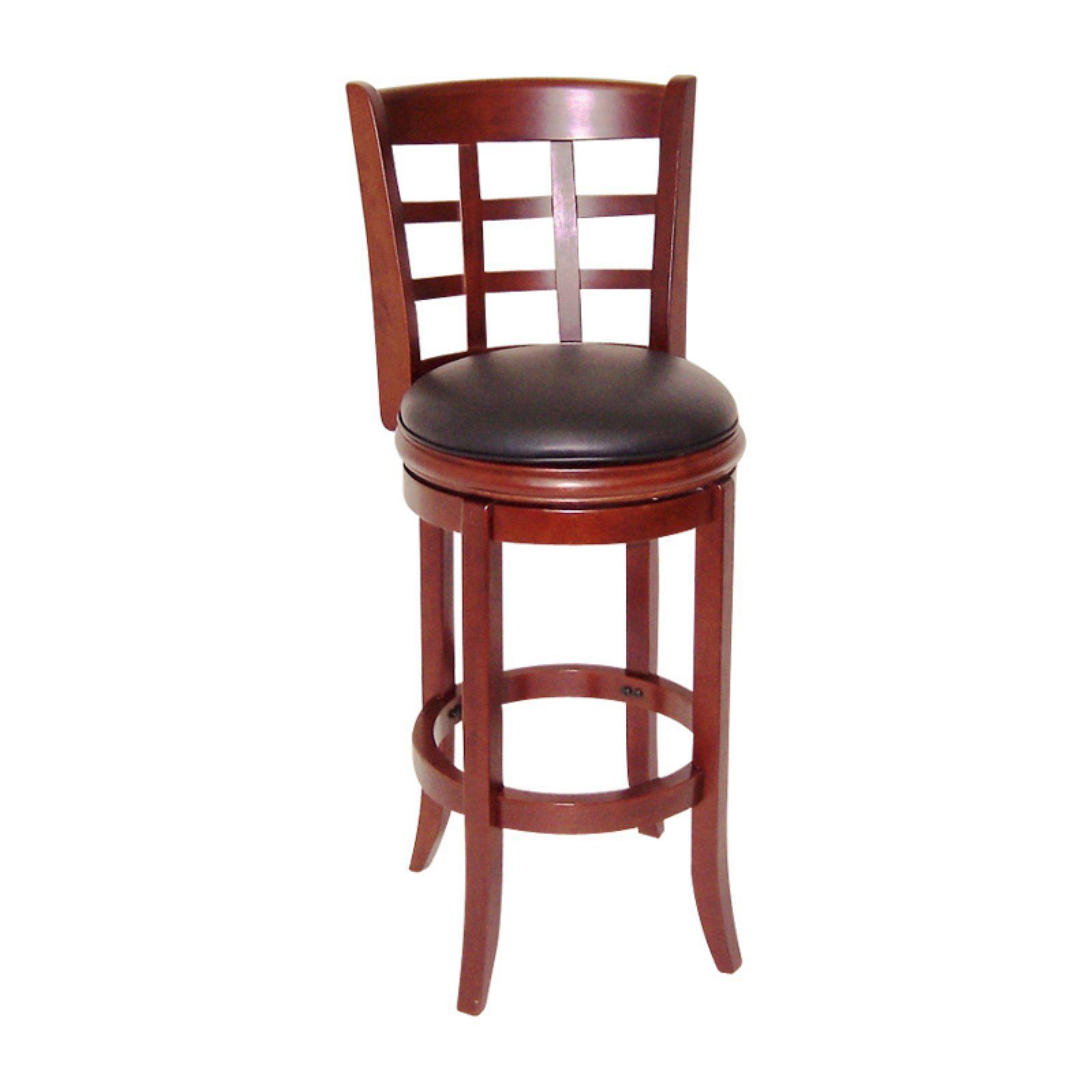 Terrific Boraam Kyoto 29 In Swivel Bar Stool Dark Cherry Products Gamerscity Chair Design For Home Gamerscityorg