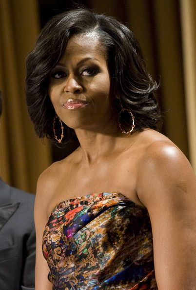 Awe Inspiring 1000 Images About Michelle Obama Hairstyles On Pinterest Short Hairstyles For Black Women Fulllsitofus