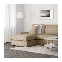 IKEA - KIVIK, Divano a 3 posti e chaise-longue, Isunda marrone, , KIVIK è una serie di divani con una seduta morbida e profonda e un sostegno confortevole per la tua schiena.Cuscini del sedile con strato superiore in memory foam: si adatta al contorno del tuo corpo e riacquista la sua forma quando ti alzi.È facile combinare il divano con una o più chaise-longue grazie ai braccioli asportabili.La chaise-longue si può usare singolarmente oppure combinare con i divani o l'elemento a un…