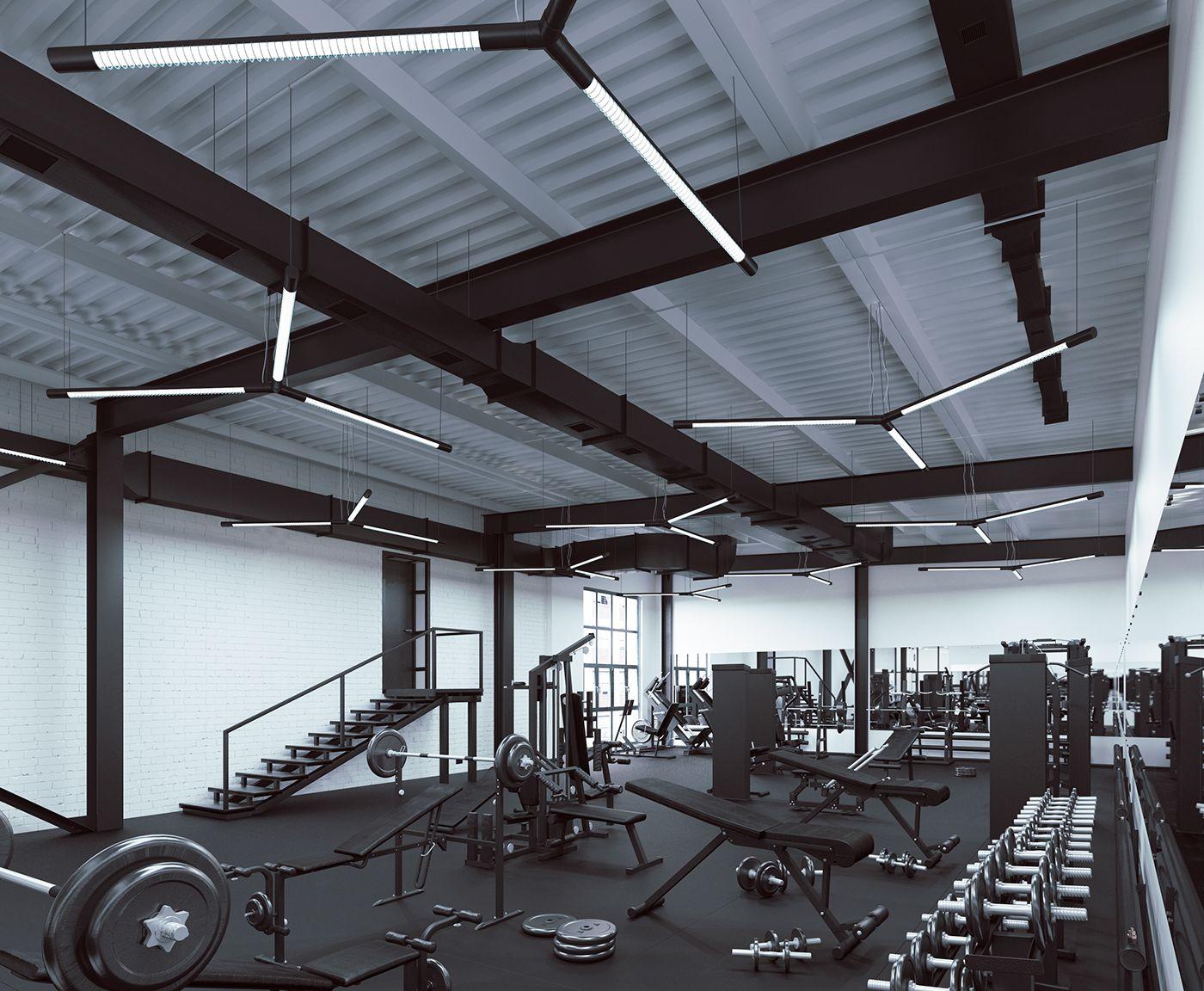 Showcase And Discover Creative Work On The World S Leading Online Platform For Creative Industries Gym Interior Gym Design Gym Design Interior