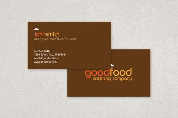 Catering Company Business Card Template Inkd Company Business Cards Business Cards Creative Templates Fun Business Card Design