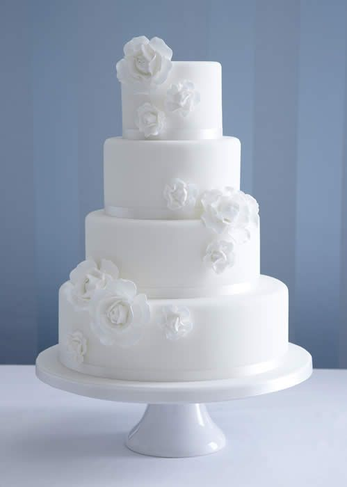 I have just fallen in love with a cake! Aqua and the other wedding color colored flowers would look pretty (: