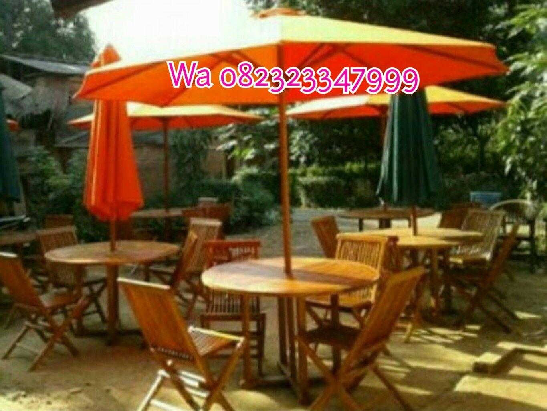 Payung Pantai Taman Cafe Daftar Harga Terbaik Tenda Pelangi Lapak An Dagang Kaki Lima Pkl Stand Diameter 230cm 2lapis Bandung Kursi Jati Kolam Meja