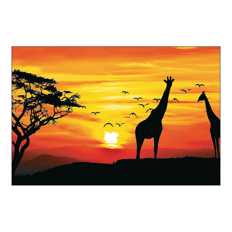 African Safari Backdrop Backdrops Banner Backdrop