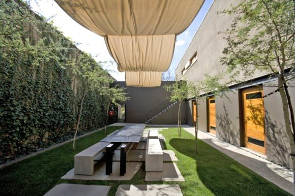 Sonnenschutz Garten garten terrasse sonnenschutz ideen stoff segel sonnenschutz