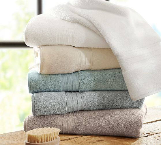 Hydrocotton Bath Towels Glamorous Hydrocotton Bath Towels  Pottery Barn  Bathroom Ideas  Pinterest Decorating Design