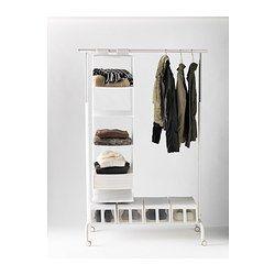 Moderne IKEA RIGGA White Clothes rack   Teen Girl Bedroom in 2019   Ikea AO-43
