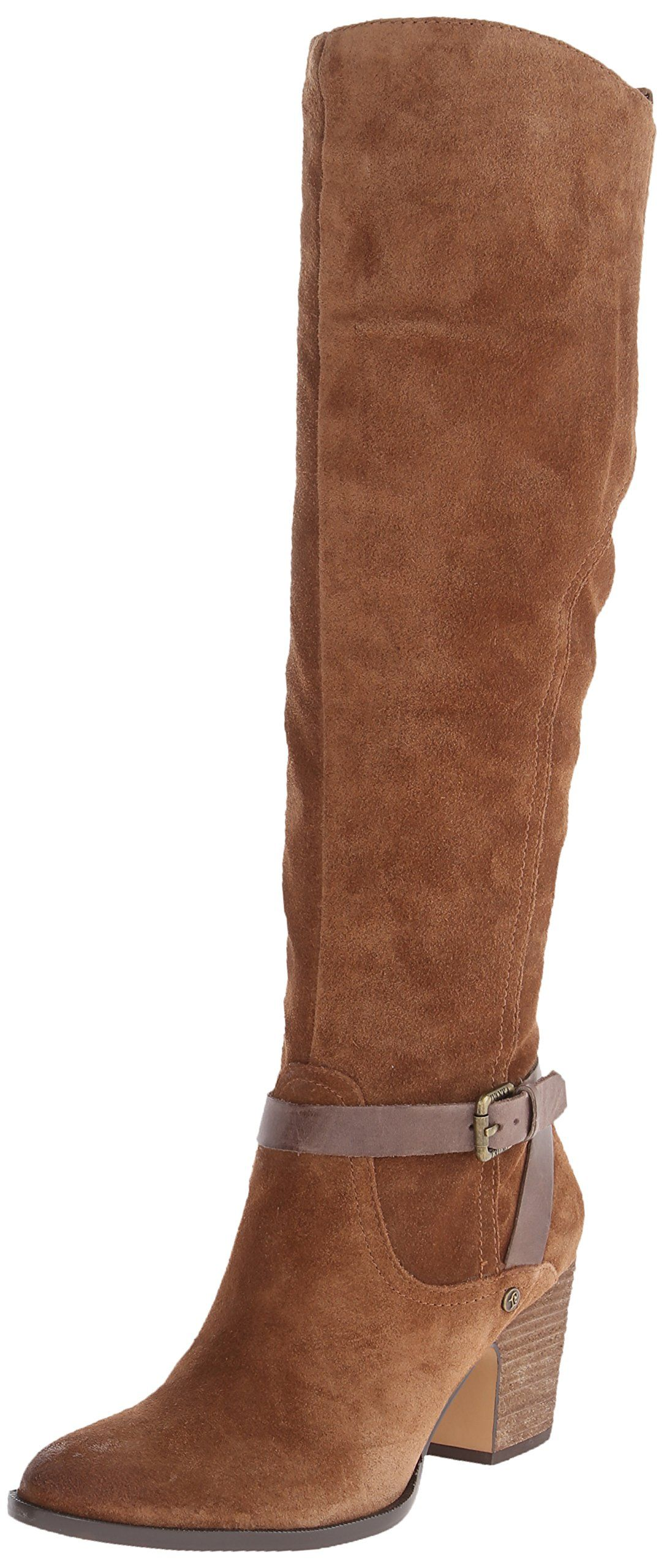 Amazon.com | Ivanka Trump Women's Tarrilyn Riding Boot, Alpaca Suede, 5.5 M  US | Boots