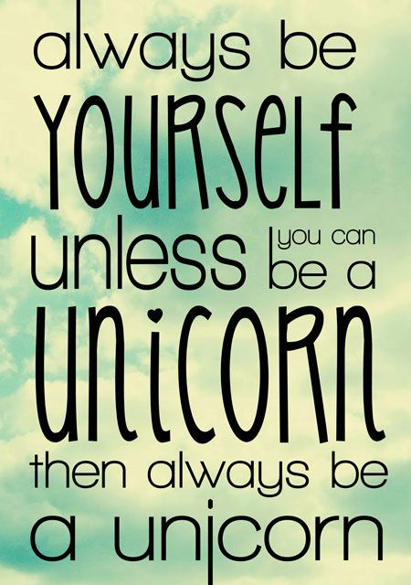 Always be yourself unless you can be a unicornfunny print always be yourself unless you can be a unicornfunny print typography poster home decor inspirational quotemotivational print 8x10 11x14 solutioingenieria Choice Image