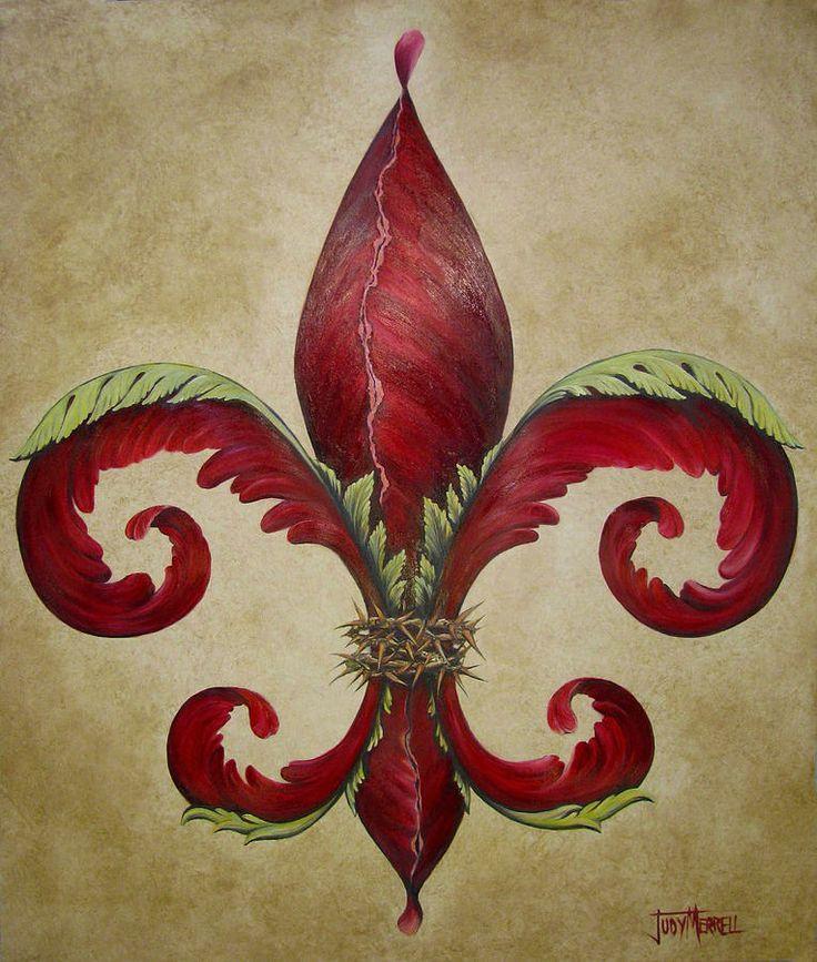 Первородные картинки геральдической лилии