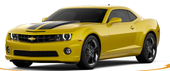 Yellow 2012 Camaro with Black Racing Stripes | Camaro ...