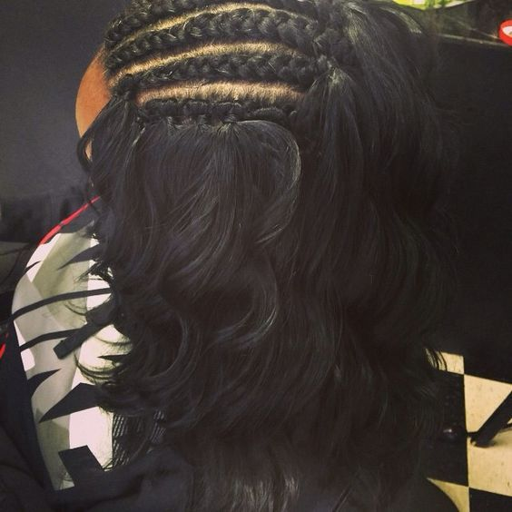 Looking For A New Crochet Braids Style For The New Year We Ve Rounded Up 40 Stunning Crochet Braids Wi Hair Styles Curly Hair Styles Crochet Braids Hairstyles