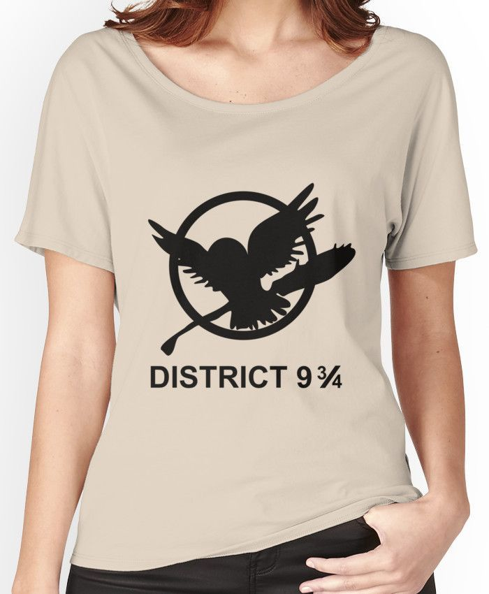 District 9 3/4 Women's Relaxed Fit T-Shirts