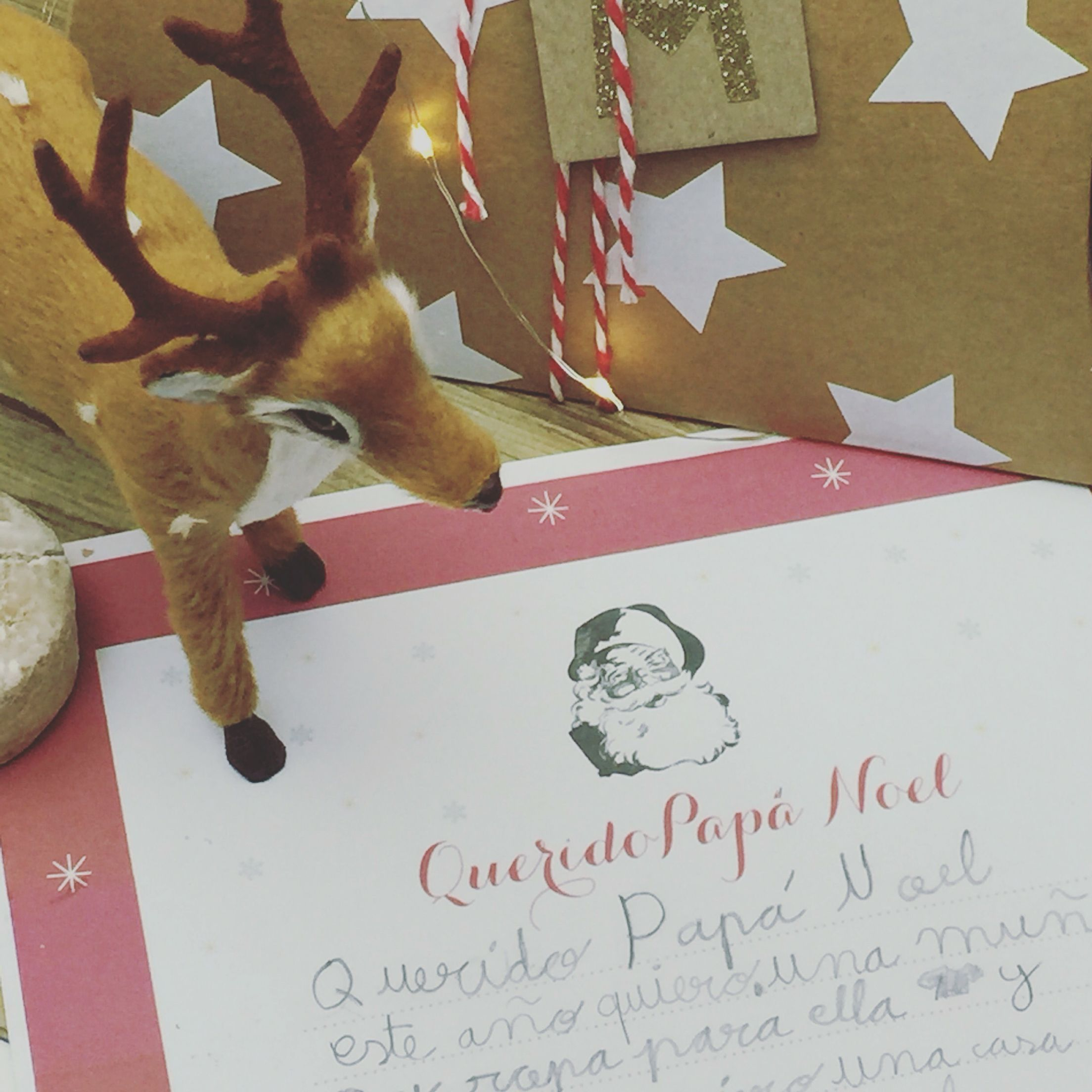 Carta papa Noel descarga gratis #freeprintable