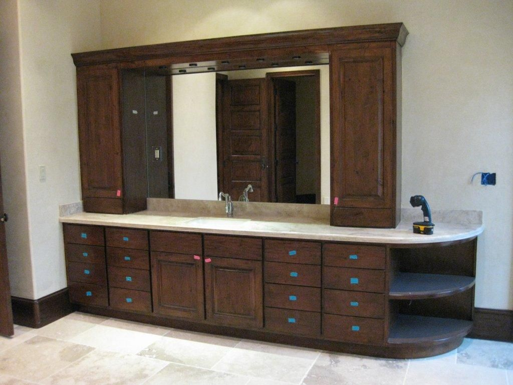 long single sink vanity | Bathroom Ideas | Pinterest | Bathroom ...