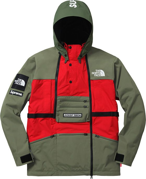 abrigos north face supreme