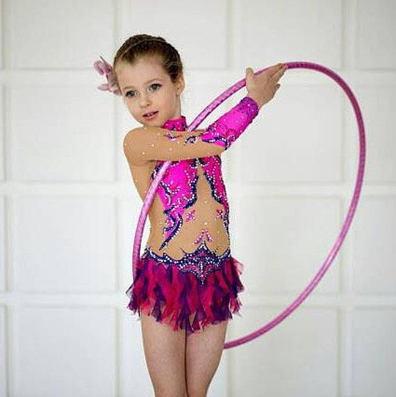 Competition Rhythmic Gymnastics Leotard  ice skating competition ... a89ed881cca