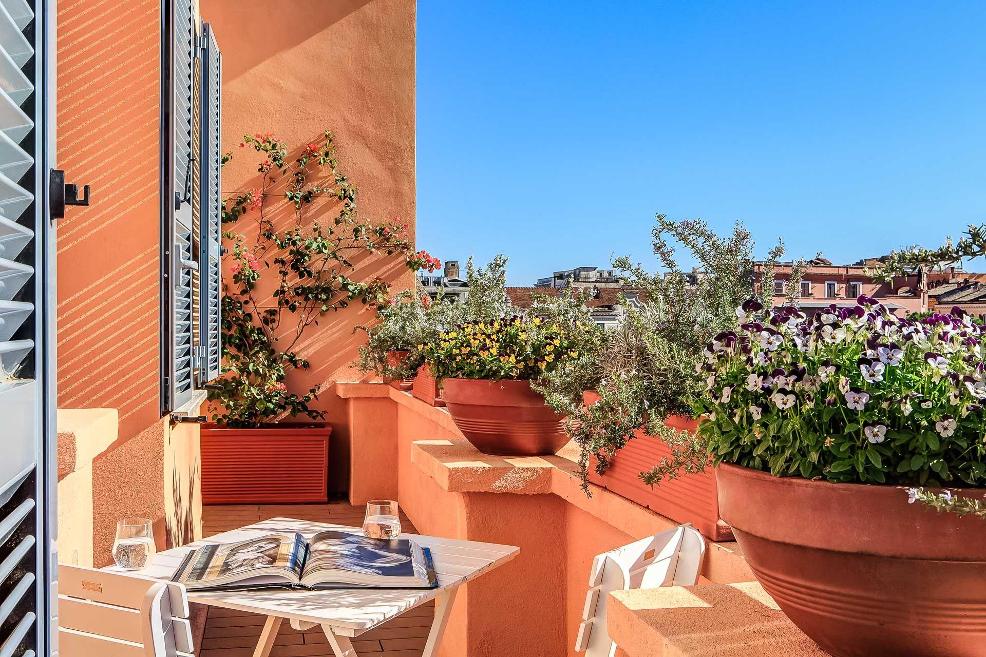 Roman Penthouse Luxury Retreats Accommodation In Rome Rome Bed Breakfast