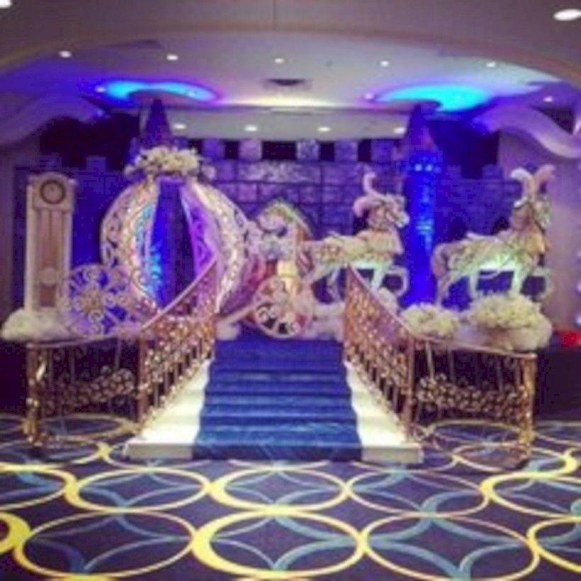 38 Amazing Cinderella Themed Wedding Decoration Ideas