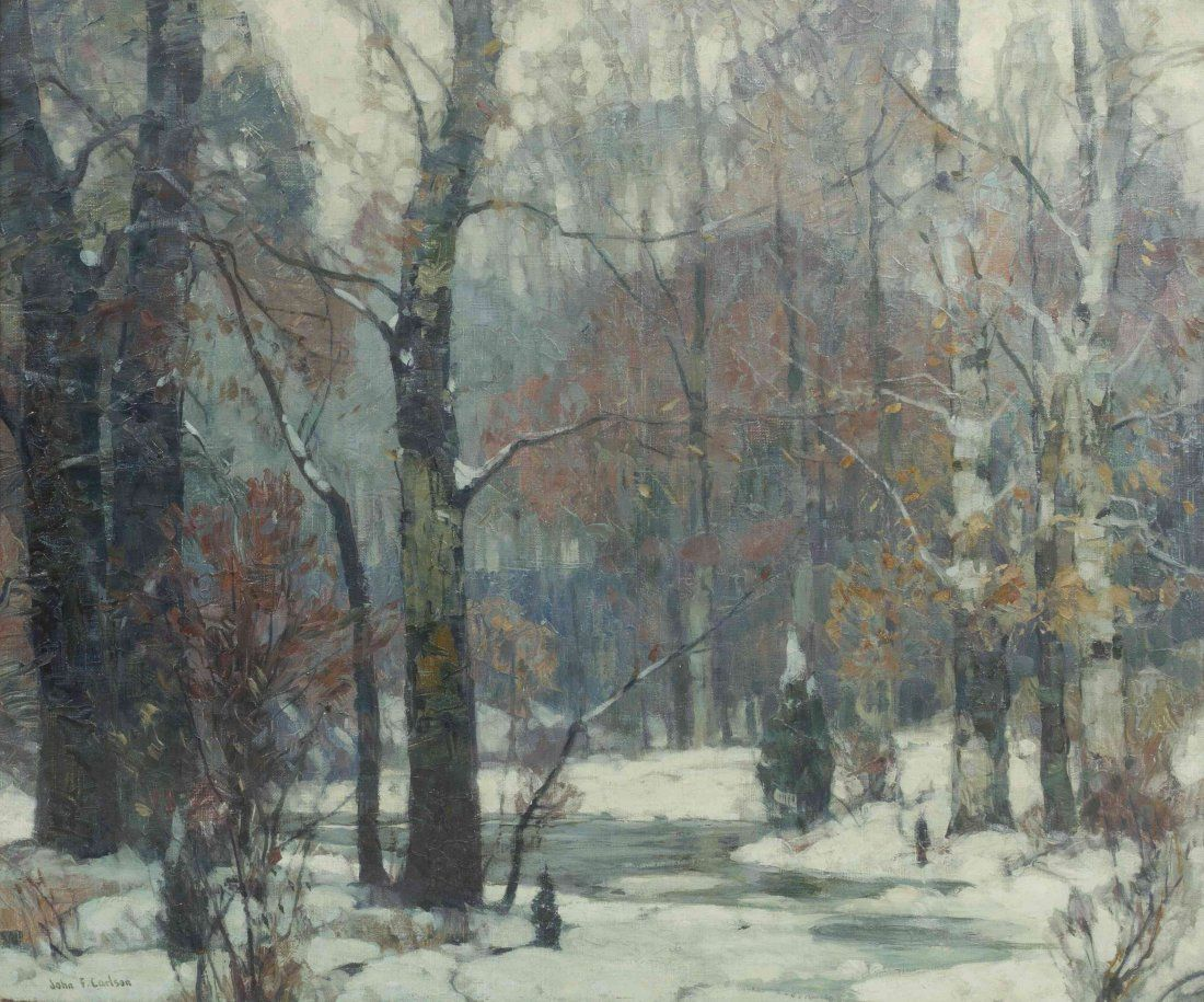 Silvered Woodlands - John Fabian Carlson