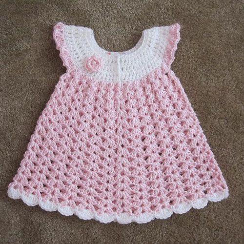 Angel Wings Pinafore - Free Pattern (Beautiful Skills - Crochet ...