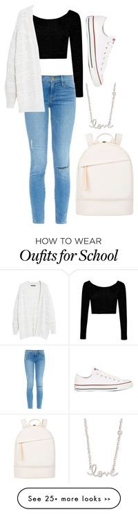 """School"" by r-redstall on Polyvore"