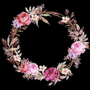 Resultado de imagen para floral frame png | Wallpaper & Prints ...
