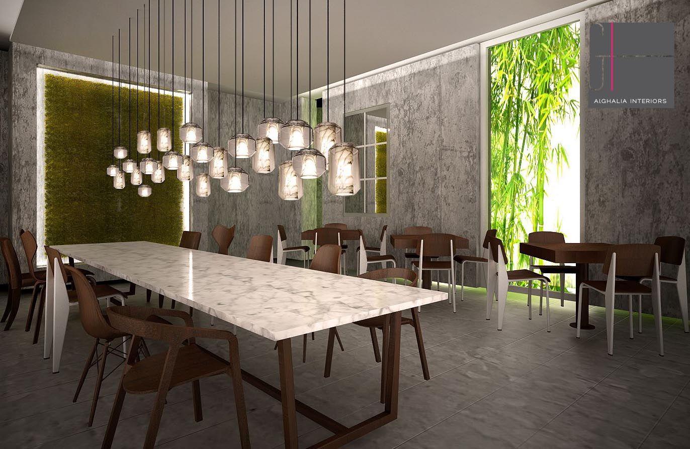 Hospitality Design Alghaliainteriors London Restaurant Cafe