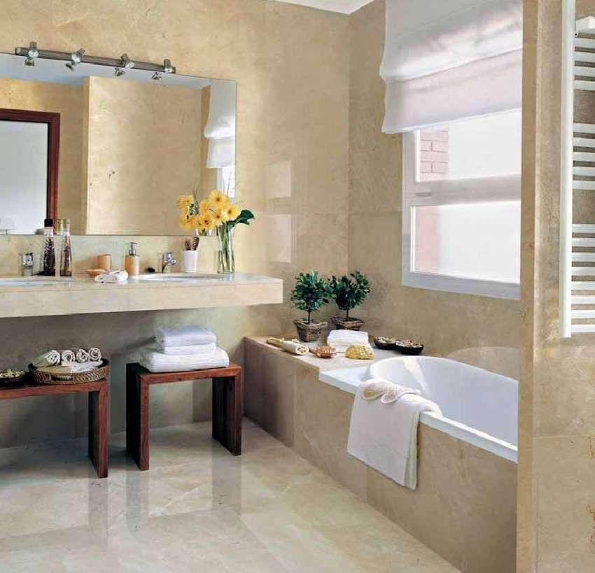 Straightforward Concept For Modern Day Modest Bathroom Colour Ideas