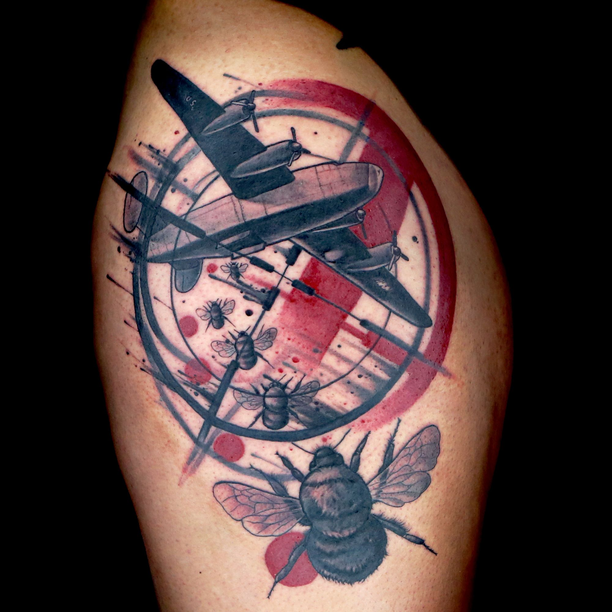 Trash Polka Tattoo: Check Out This High Res Photo Of Craig Foster's Tattoo