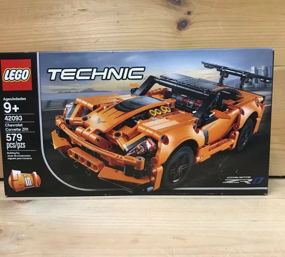 Lego 42093 Technic Chevrolet Corvette Zr1 579pcs Afflink Contains