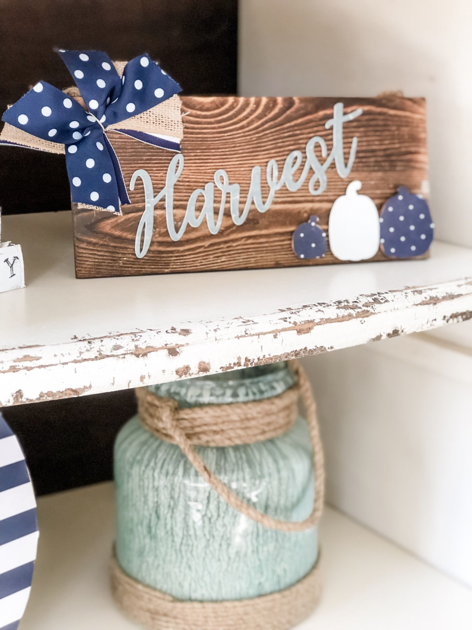 5 minute fall craft ideas! These two projects are so easy ...