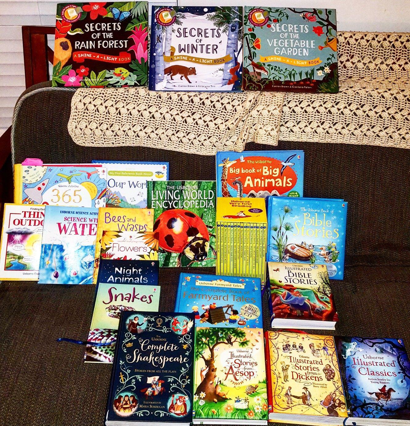 Homeschool with Usborne Usborne books
