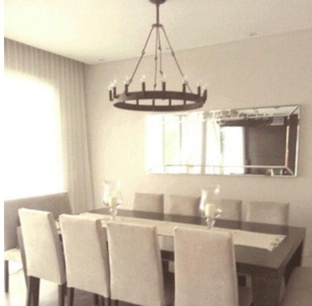 Comedor elegante en santa barbara todo a medida mesa for Espejos rectangulares para comedor