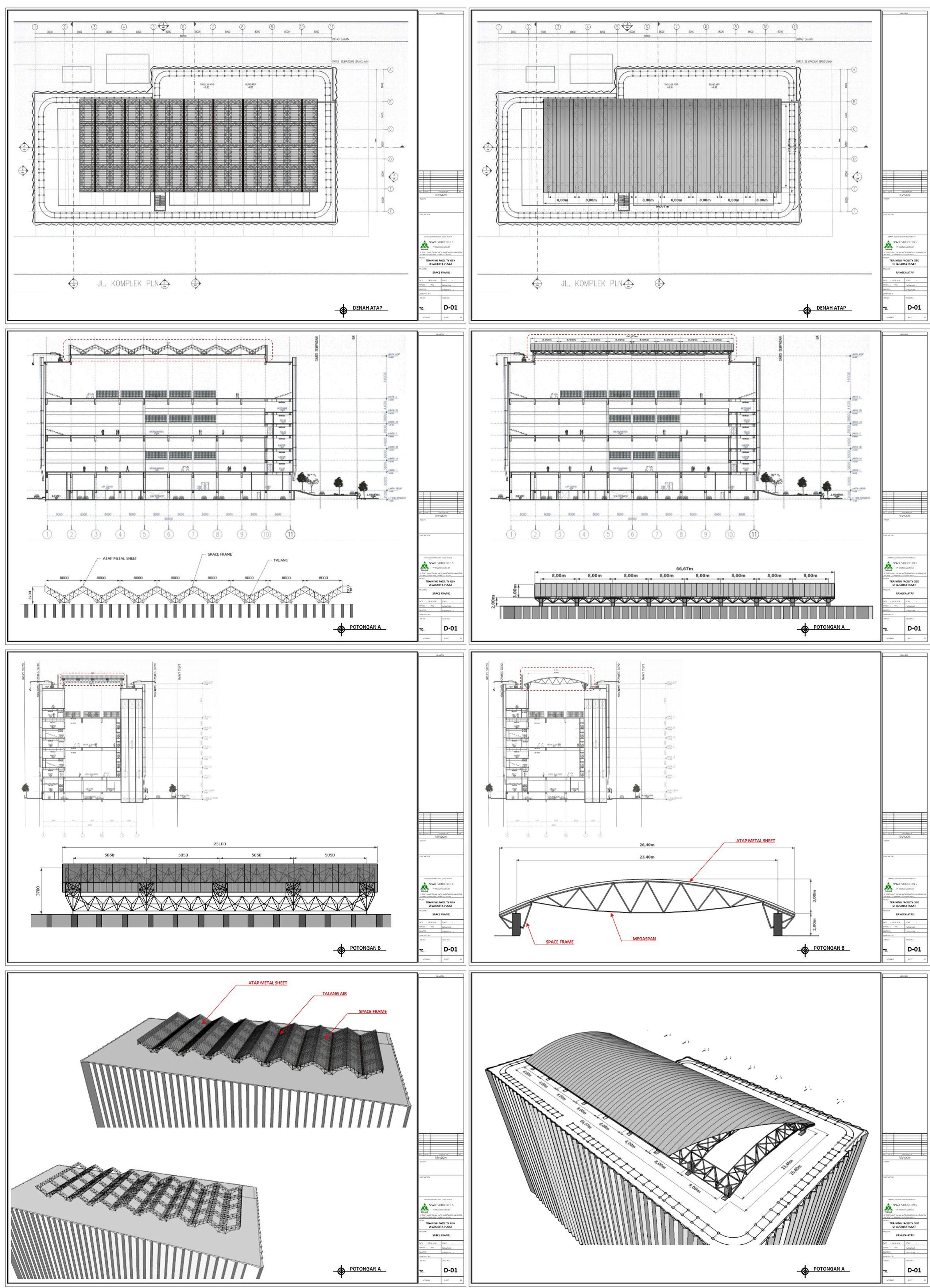 Gbk Traning Facility School Design Tensile Structures Design