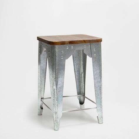 METAL STOOL - Occasional Furniture - Bedroom | Zara Home United ...