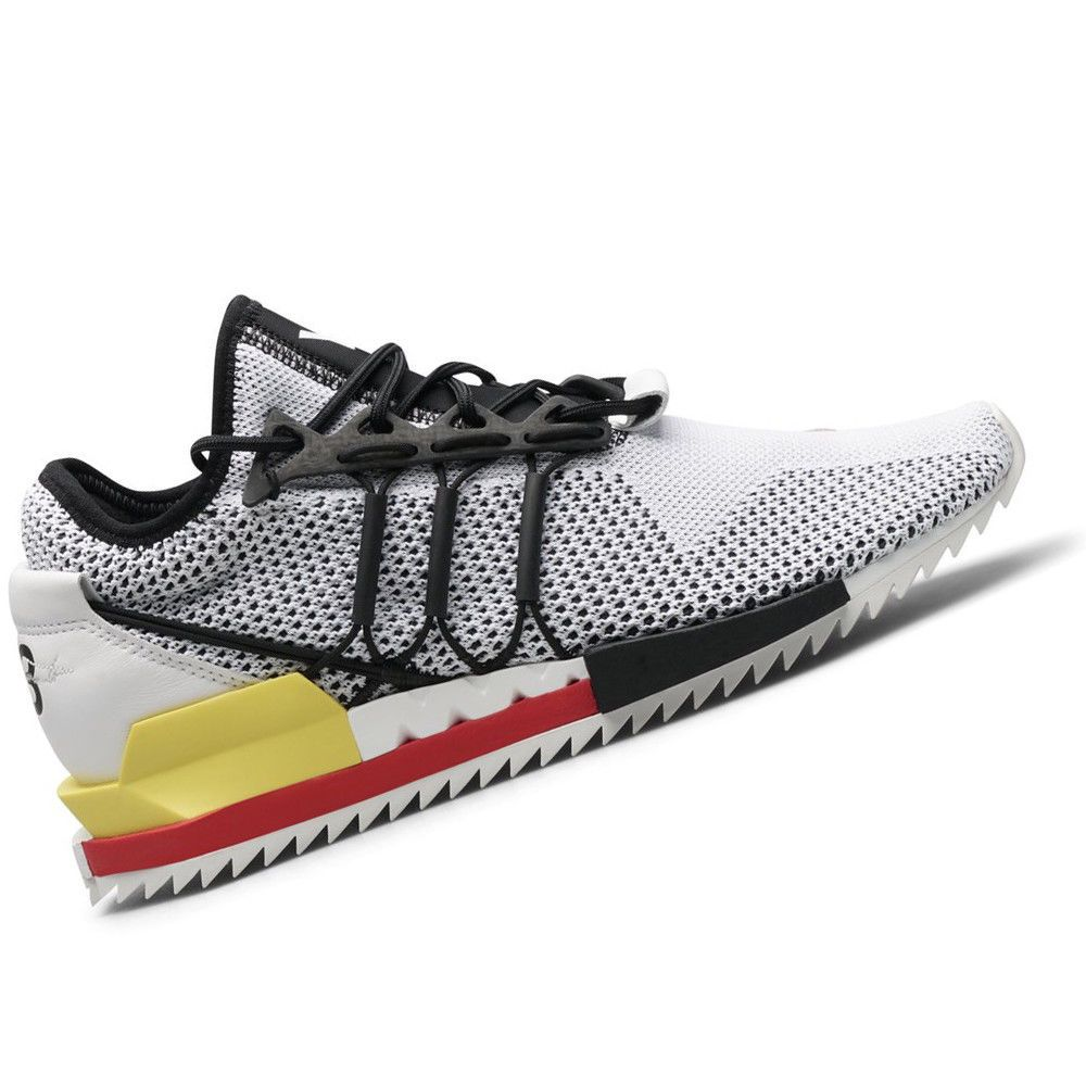054b17b3a ADIDAS MENS Shoes Y-3 Harigane - White Black   Red - US Size