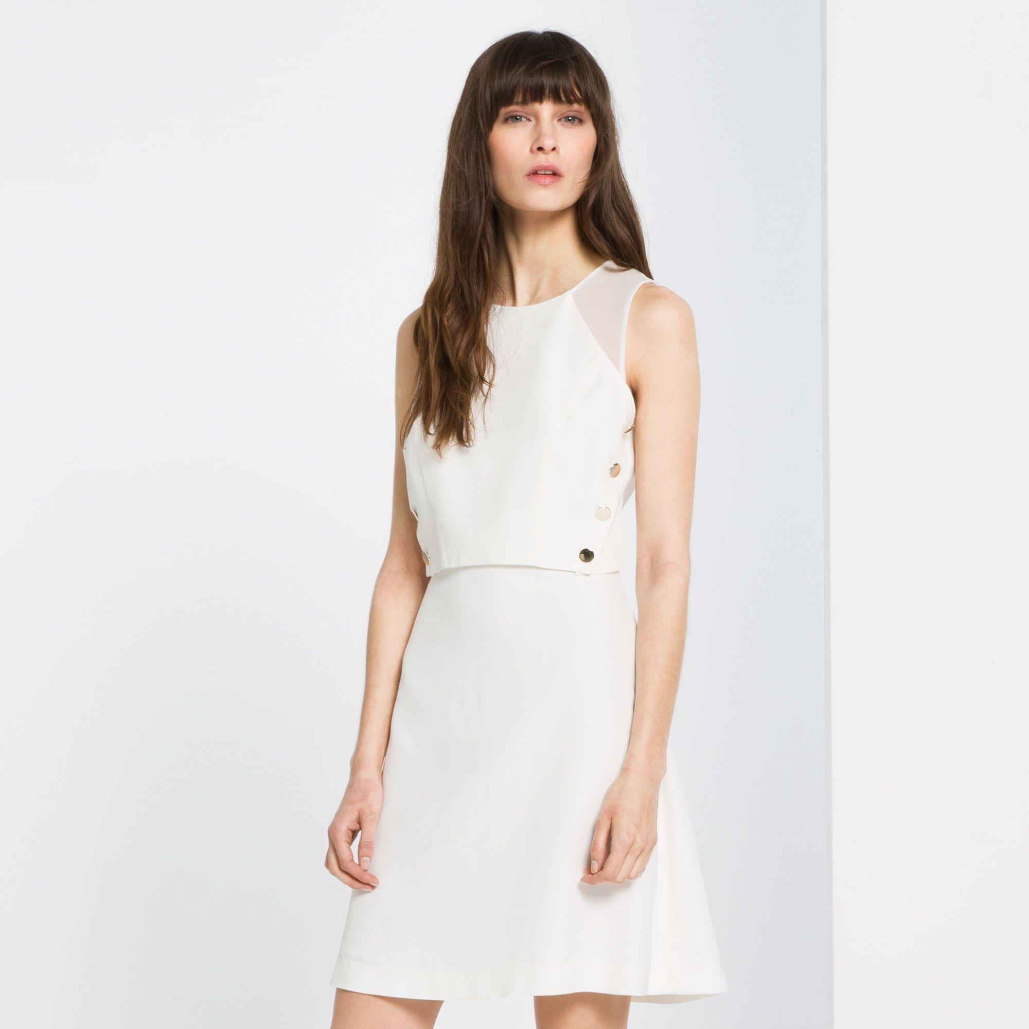 Robe Razz | SANDRO | Weiße Kleider für die Mädels | Pinterest | Robe ...