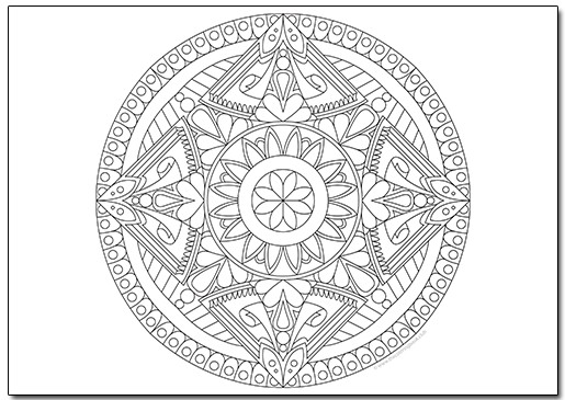 Free Mandala Coloring Page Ii The Coloring Book Club Mandala Coloring Pages Coloring Books Coloring Pages