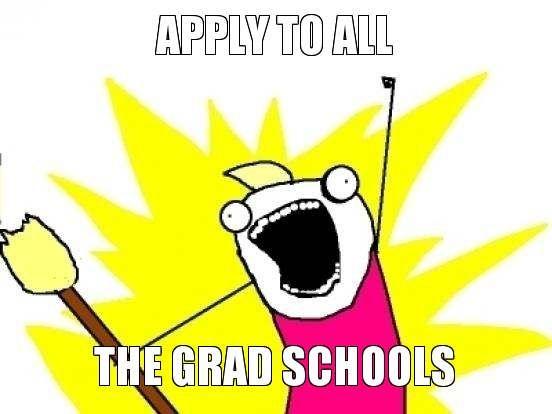 grad school application memes