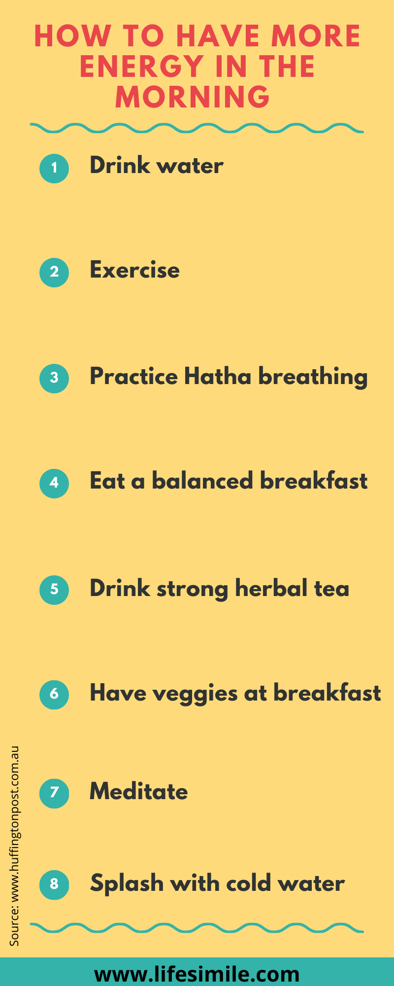 how to have more energy in the morning