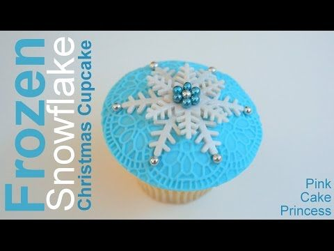 Yeni Il Kap Keykleri Cupcake Christmas Cupcakes Youtube Christmas Cupcakes Pink Cake Frozen Cupcakes