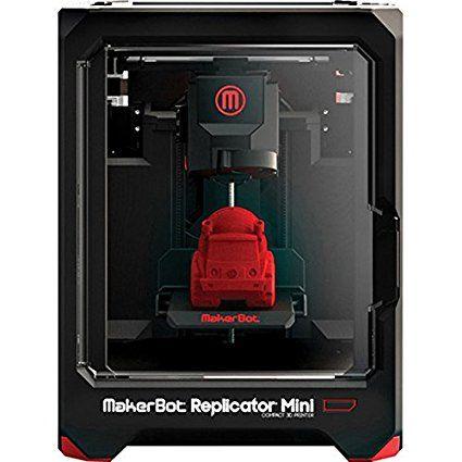 MAKERBOT Replicator Mini Compact 3D Desktop Printer   MP05925 (Certified Refurbished)