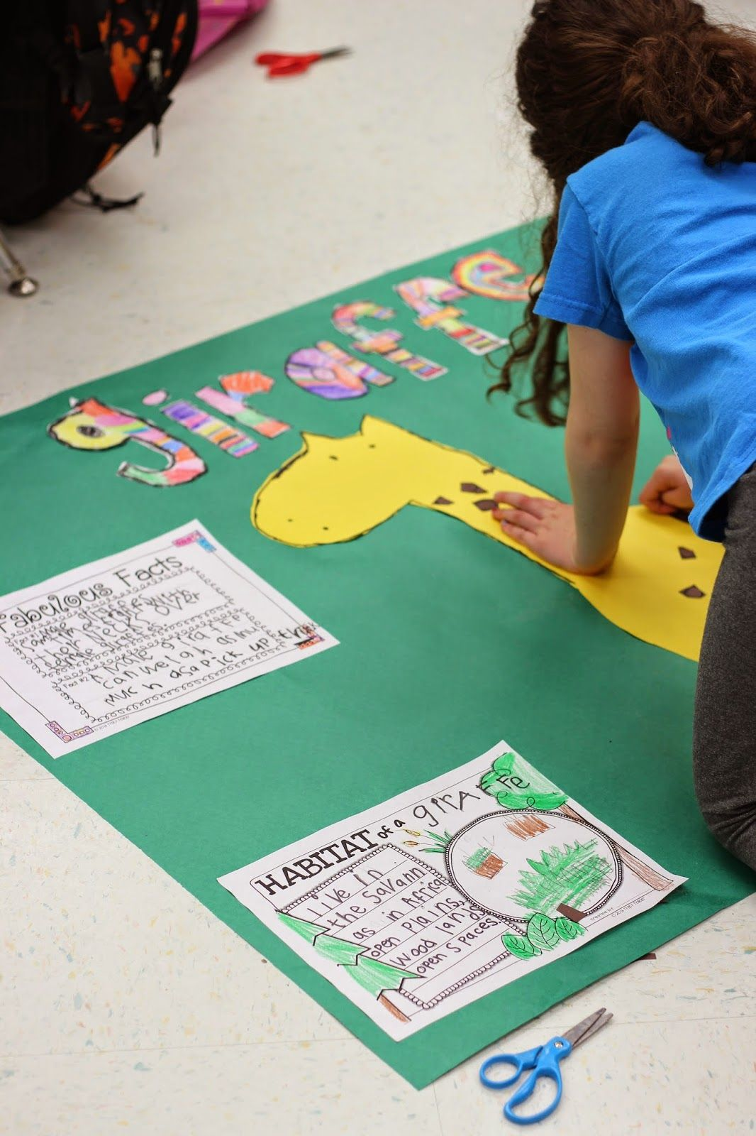 Projects in kindergarten