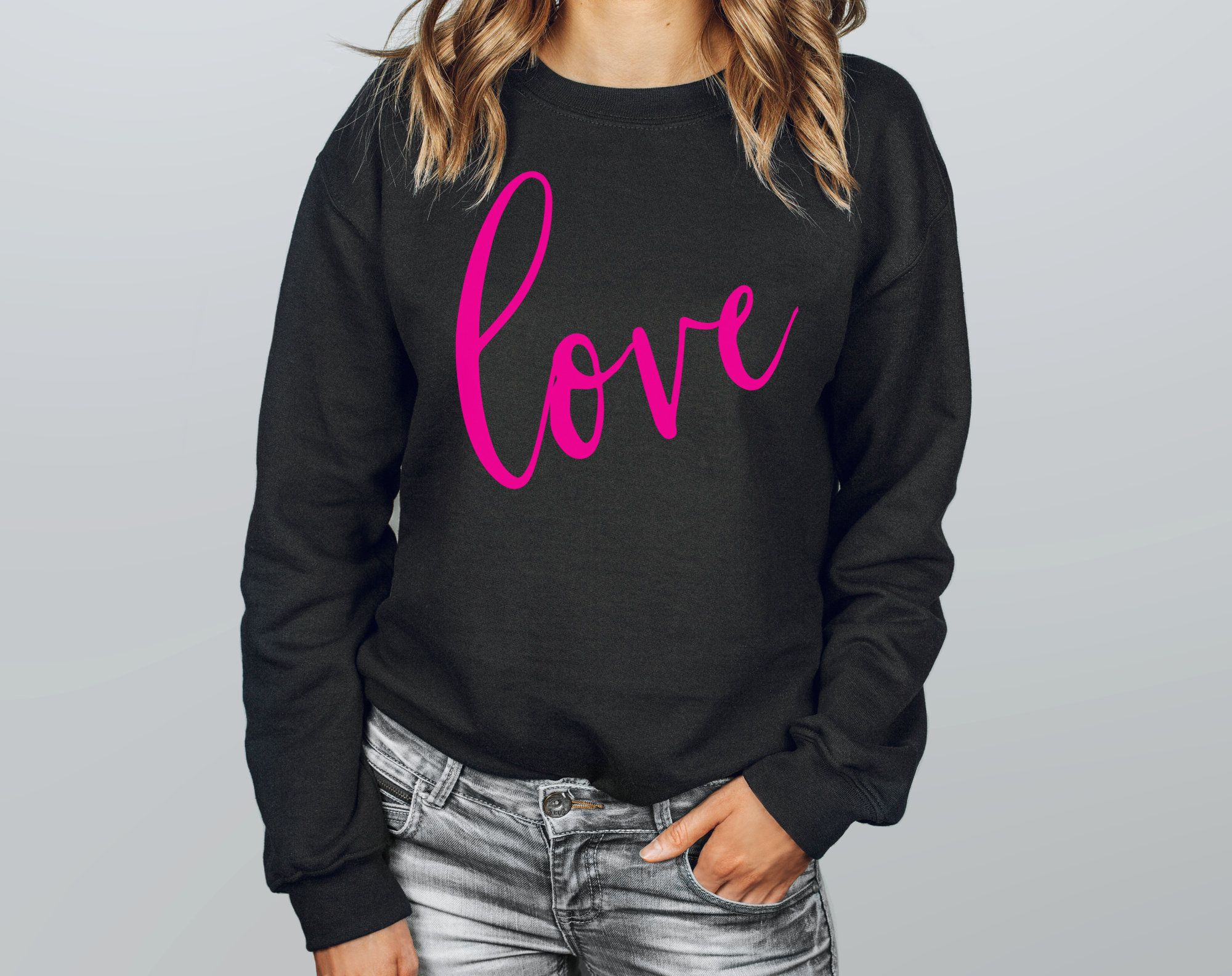 Feel Chic Stylish And Extra Cozy This Fall Season In This New Trending Sweatshirt From Lovingleeboutique Hap Trendy Sweatshirt Sweatshirts Women Fall Hoodies [ 1584 x 2000 Pixel ]